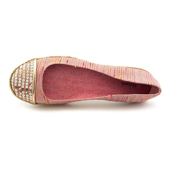 Femmes Flats Mesdames Comfy Buckle Suede Chaussures Soft Slip-On Casual Singel Chaussures @LMH80104556BK NdwGA1DwhS