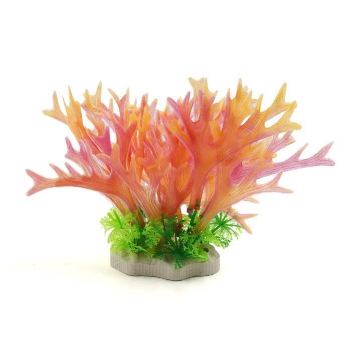 Plastic Aquarium Fish Tank Decorative Plant Underwater Landscape Ornament