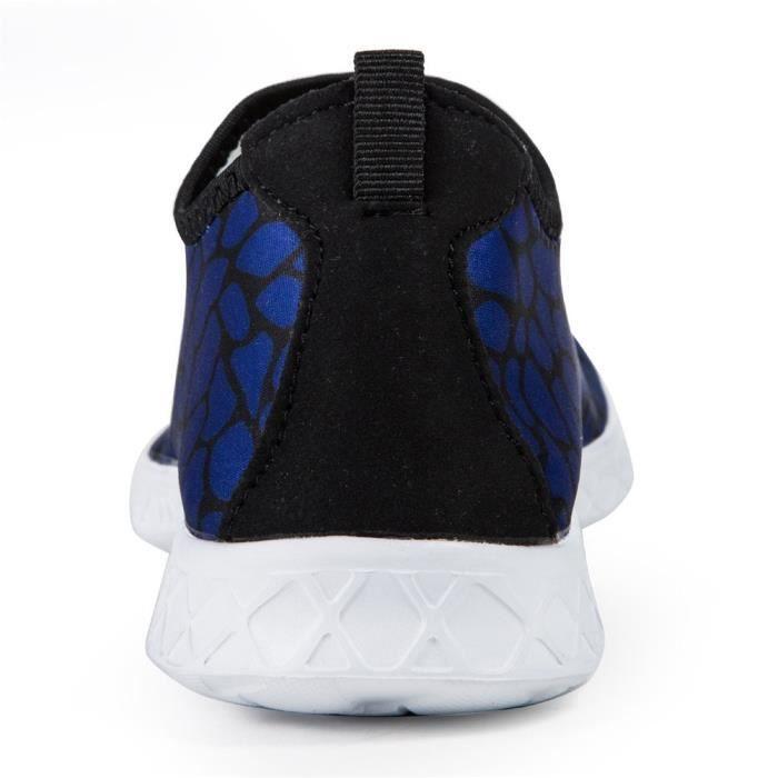 Chaussures d'eau à séchage rapide pour les hommes, Chaussures Barefoot Femmes, Chaussures de sport Aqua Chaussettes Swim, Marche, Yo