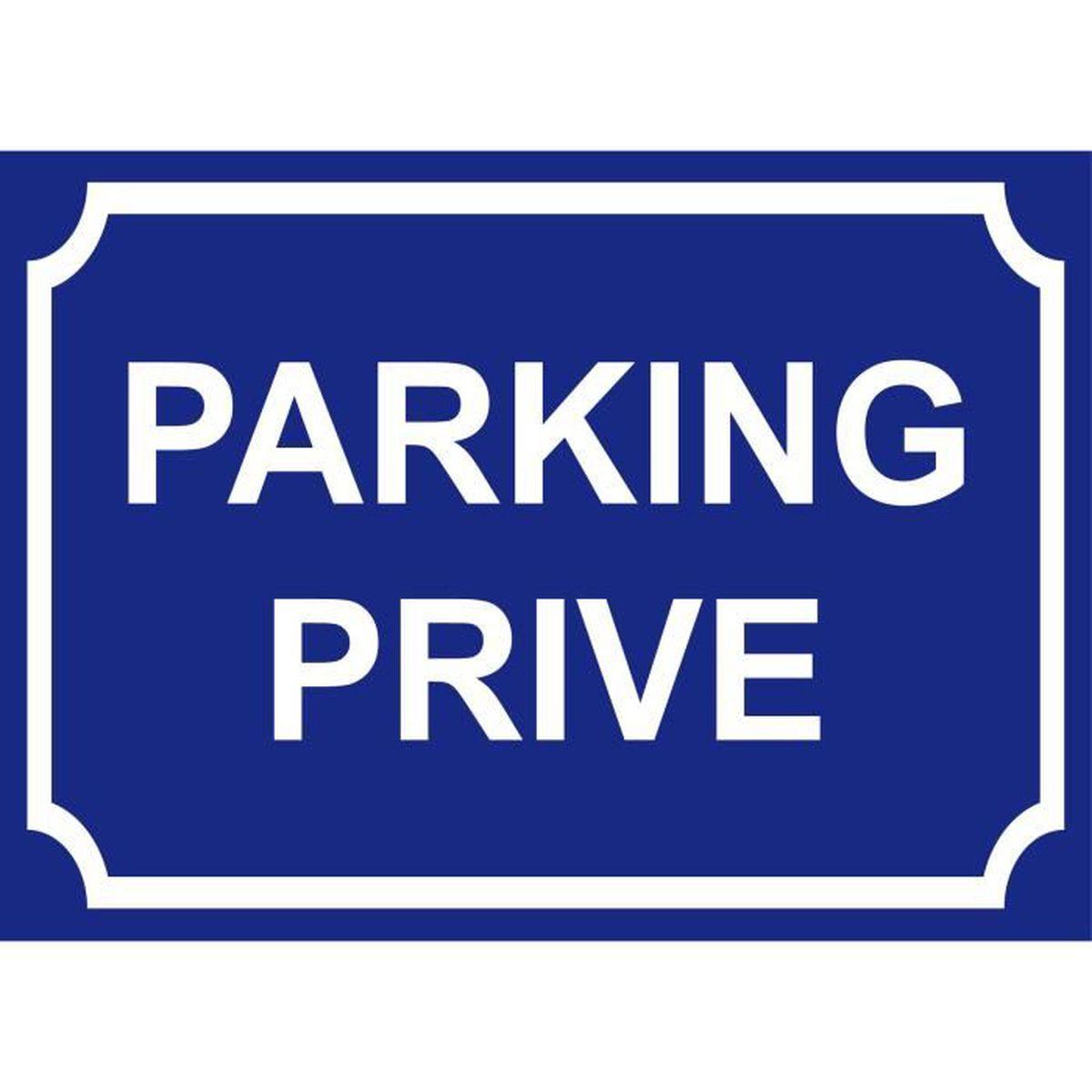 parking prive panneau 300x200mm achat vente panneau ext rieur parking prive panneau 300x2. Black Bedroom Furniture Sets. Home Design Ideas
