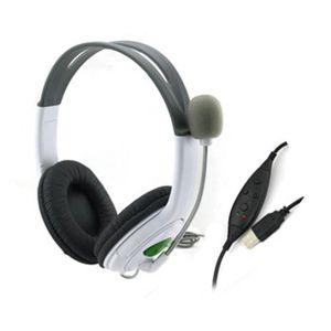 CASQUE - ÉCOUTEURS Jeu USB filaire direct Gaming casque casque microp