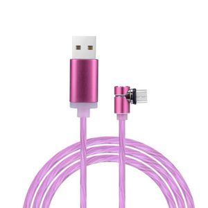Câble - connectique GPS LED coulant lumière jusqu'à 90 degrés USB Sync Typ
