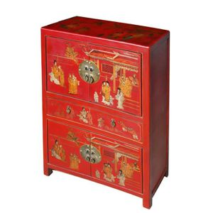 Meuble Chinois Rouge Achat Vente Pas Cher