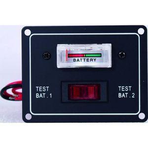 TABLEAU ÉLECTRIQUE EUROMARINE Controleur Charge 2 Batteries