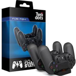 CHARGEUR CONSOLE Station double charge PS4 pour manette