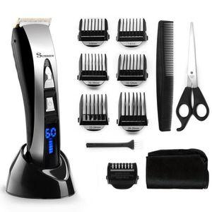 TONDEUSE MULTI-USAGES Tondeuse Cheveux avec LCD Ecran Tondeuse à Cheveux