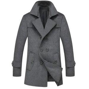outlet store 93755 036bf manteau-homme-hiver-nouveau-caban-manteau-en-la.jpg