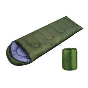 SAC DE COUCHAGE SIMPVALE Grand sac de couchage unique Chaud doux A