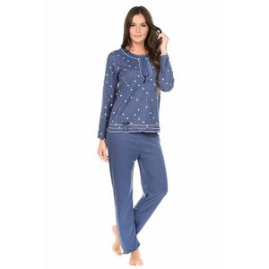 PYJAMA Nuit Hi Style Charnelle - Daty Marine - Couleur Bl