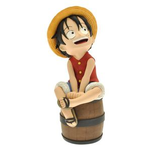 TIRELIRE Tirelire One Piece - Luffy Sur Son Tonneau