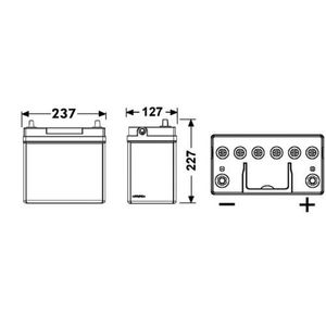 BATTERIE VÉHICULE Batterie de démarrage FULMEN FB456