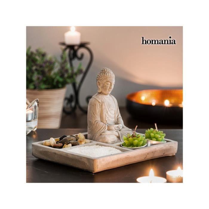 jardin zen d coratif avec bouddha homania achat vente jardin japonais zen soldes. Black Bedroom Furniture Sets. Home Design Ideas