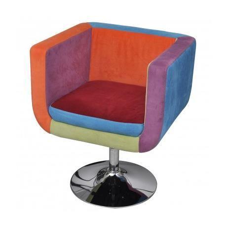 Fauteuil couleur achat vente fauteuil couleur pas cher cdiscount - Fauteuil club couleur ...