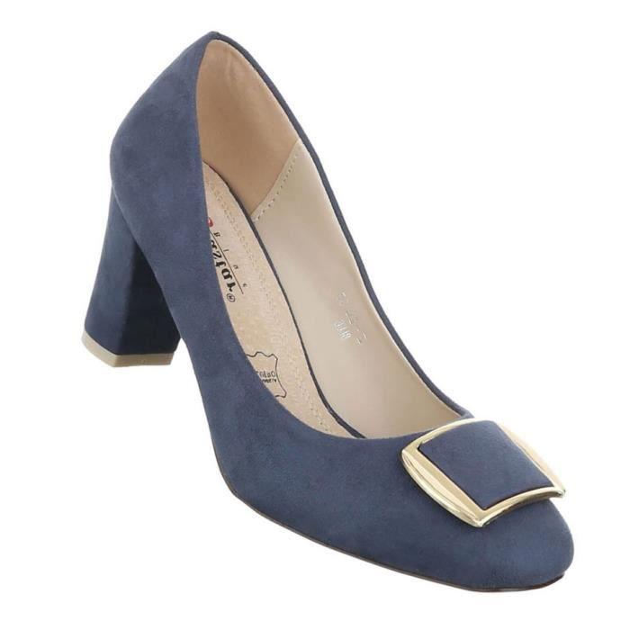 Chaussures femmes bottillon High Heels l'escarpin Beige 41 Ii55OaTHq