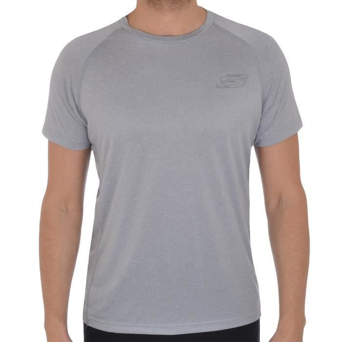 Skechers Discovery - T-shirt homme - running gym fitness - Prix pas ... 4d0ea0f7dd4