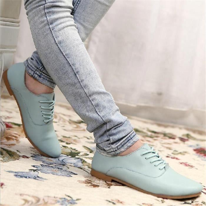 Ballerine Femmes Ultra Leger Comfortable Chaussure CHT-XZ040Bleu40 PJFYrM