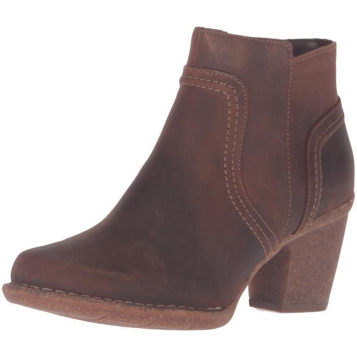 bc5386d6794465 Clarks carleta femmes paris chaussures de démarrage N7L5K Marron ...