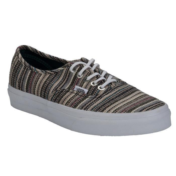 Chaussures Authentic à rayures en textile