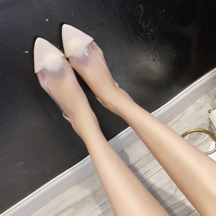 Chaussures Bouche Beguinstore Flats Profonde Tisses Rose Antidrapantes Femme Paresseux Peu neurs Plates Fl SqqI6dgnw4
