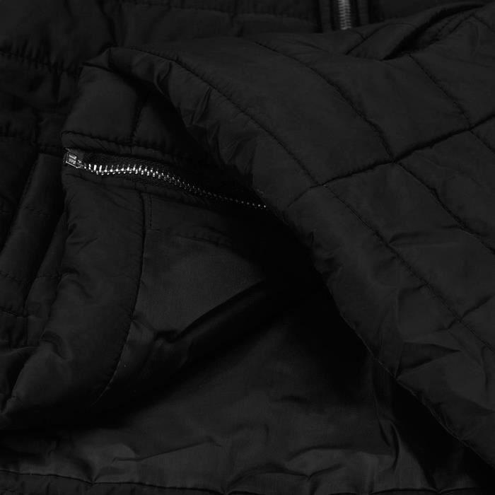 Manteau Femme Chaud Mode Parka Casual Dedasing® Veste Hiver Manteaux Noir 7w18q7APW