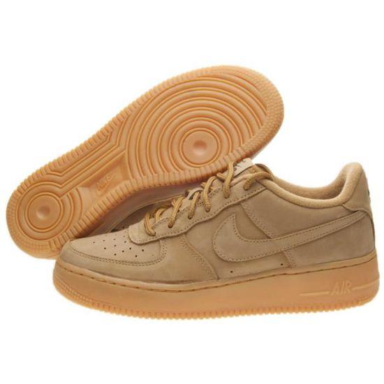 buy popular d62c5 a70ca Baskets Nike Air Force 1 Winter Prm (Gs) Marron Marron - Achat   Vente  basket - Cdiscount