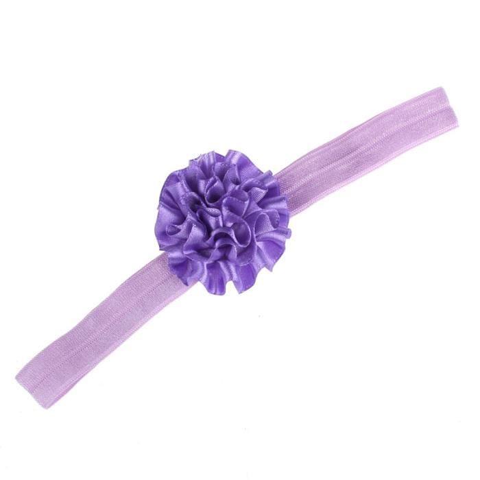 Napoulen®Pied fleurs coloré pieds nus sandales et bandeau ensemble pour bébé enfant fille-XPP10202127