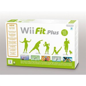 JEU WII U Wii Fit Plus Jeu Wii (Wii Balance Board inclus)