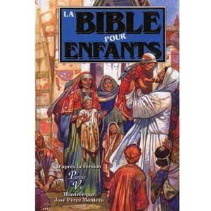 LIVRE RELIGION La Bible pour enfants