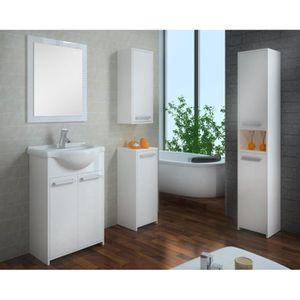 COLONNE - ARMOIRE SDB Meuble salle de bain Eudore - Meubles salle de bai