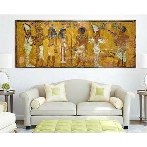 TABLEAU - TOILE Non encadré 1 pièce Égyptien Décor Toile Peinture