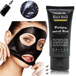 MASQUE VISAGE - PATCH Masque noir de charbon actif, masque de soin de pe
