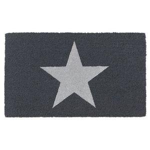 PAILLASSON Paillasson brosse RUCO à motif étoile argenté 45x7