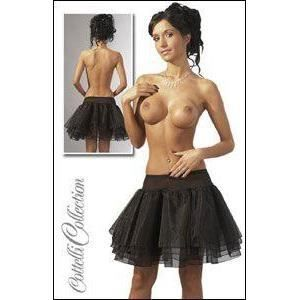 JUPE SEXY Jupe bouffante - Noire - Taille S