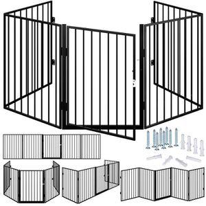BARRIÈRE SÉCURITÉ CHIEN Barrière de sécurité 310 cm Grille protection pour