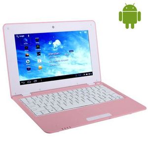 NETBOOK Netbook Rose 1.5GHZ Android 4 écran 10.1 Wifi-4GO