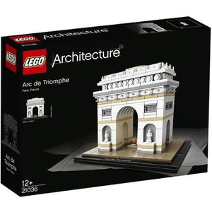 ASSEMBLAGE CONSTRUCTION LEGO® Architecture 21036 L'Arc de Triomphe - 386 p