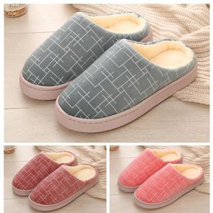 Ours Pantoufles Classique Hiver Pantoufles Antidérapantes Doux Confort Chaussures Coton Nouvelle arrivée Belle Mode 40-45 LaiNq9HE