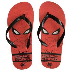 TONG SpiderMan Tongs Garçons - Rouges