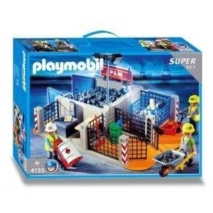 Playmobil chantier achat vente jeux et jouets pas chers - Betonniere playmobil ...