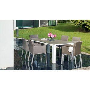 Salon de jardin aluminium Proloisirs - Achat / Vente Salon de jardin ...