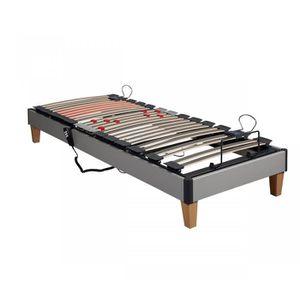 sommier lectrique achat vente sommier lectrique pas cher cdiscount. Black Bedroom Furniture Sets. Home Design Ideas