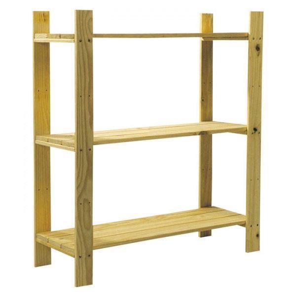 Ensemble 3 tag re 3 en bois maison garage tag res achat vente meuble tag re ensemble 3 - Etagere maison en bois ...