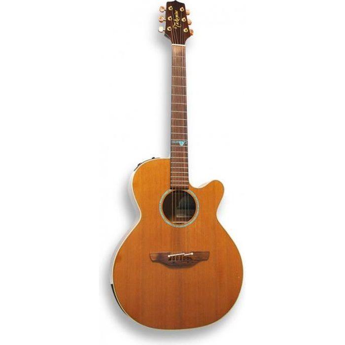 mini jumbo-acoustique-guitare folk avec micros et table en epicea