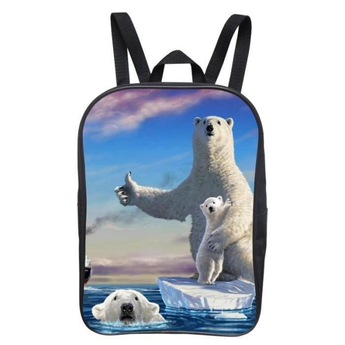 SAC À DOS 12 pouces sac à dos étudiant impression schoolbag