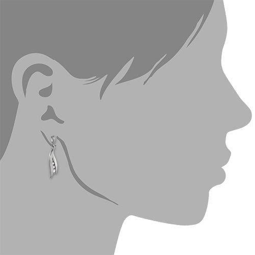 Vsdo240pw - Boucles Doreille Femme - Argent 925-1000 - Oxyde De Zirconium IZP72