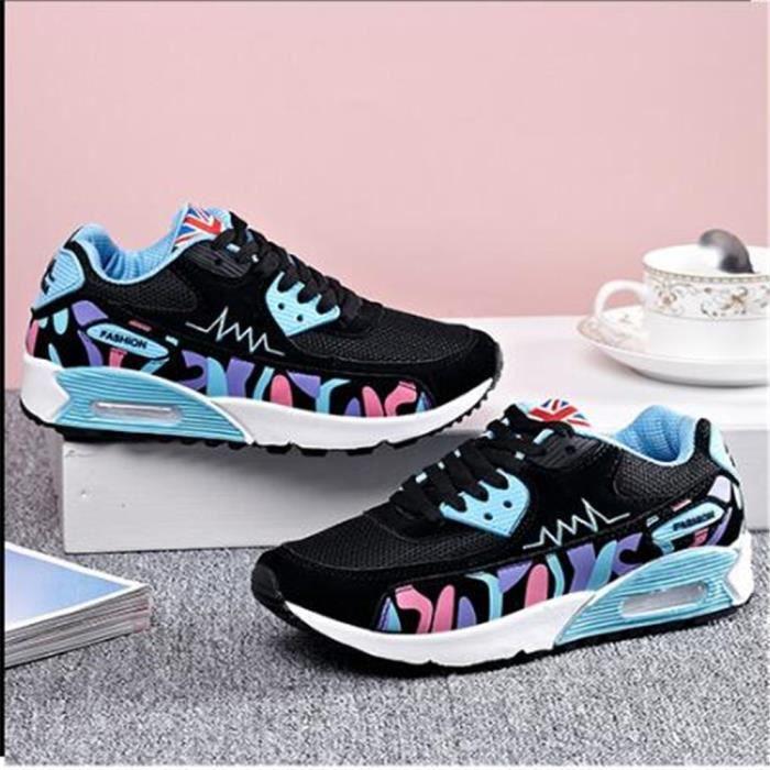... Chaussures femme de sport De Marque De Luxe Sneaker Grande Taille Nouvelle  Mode 2017 ete Cool ... eb4d272124d