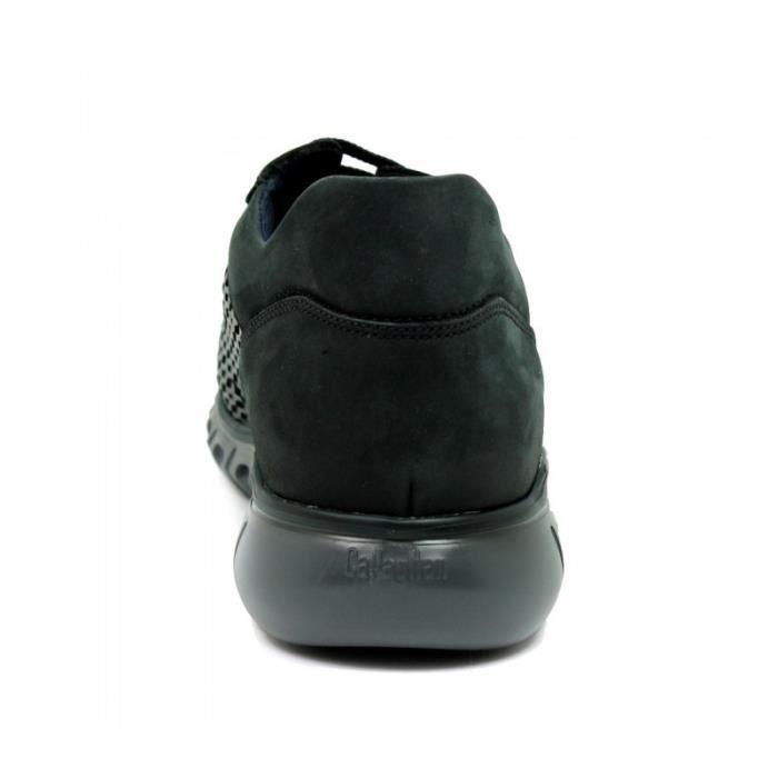 CALLAGHAN Basket - Lacets - Cuir - Noir - Adaptation - Taille - Quarante-deux Homme Ref. 1480_35923 us4FT8VST