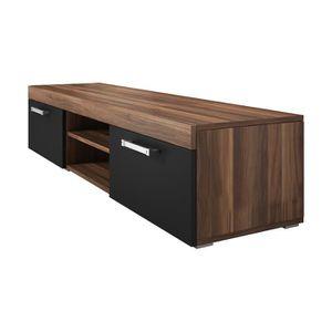 mambo meuble tv contemporain decor prunier et noir Résultat Supérieur 50 Nouveau Meuble Tv Bois Noir Photos 2018 Hjr2