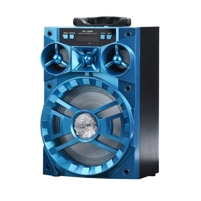 Extérieur Sans Fil Bluetooth Haut-parleur Portable Super Bass Avec Radio Usb - Tf Aux Fm Ngh61205106_911