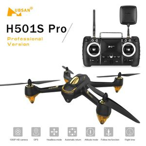 DRONE Hubsan H501S Pro X4 5.8G FPV Drone Brushless avec